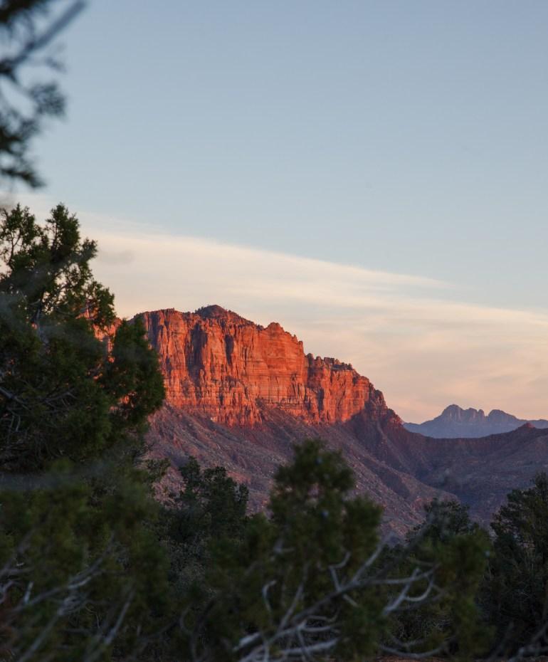 Kolob Terrace Sunset Zion