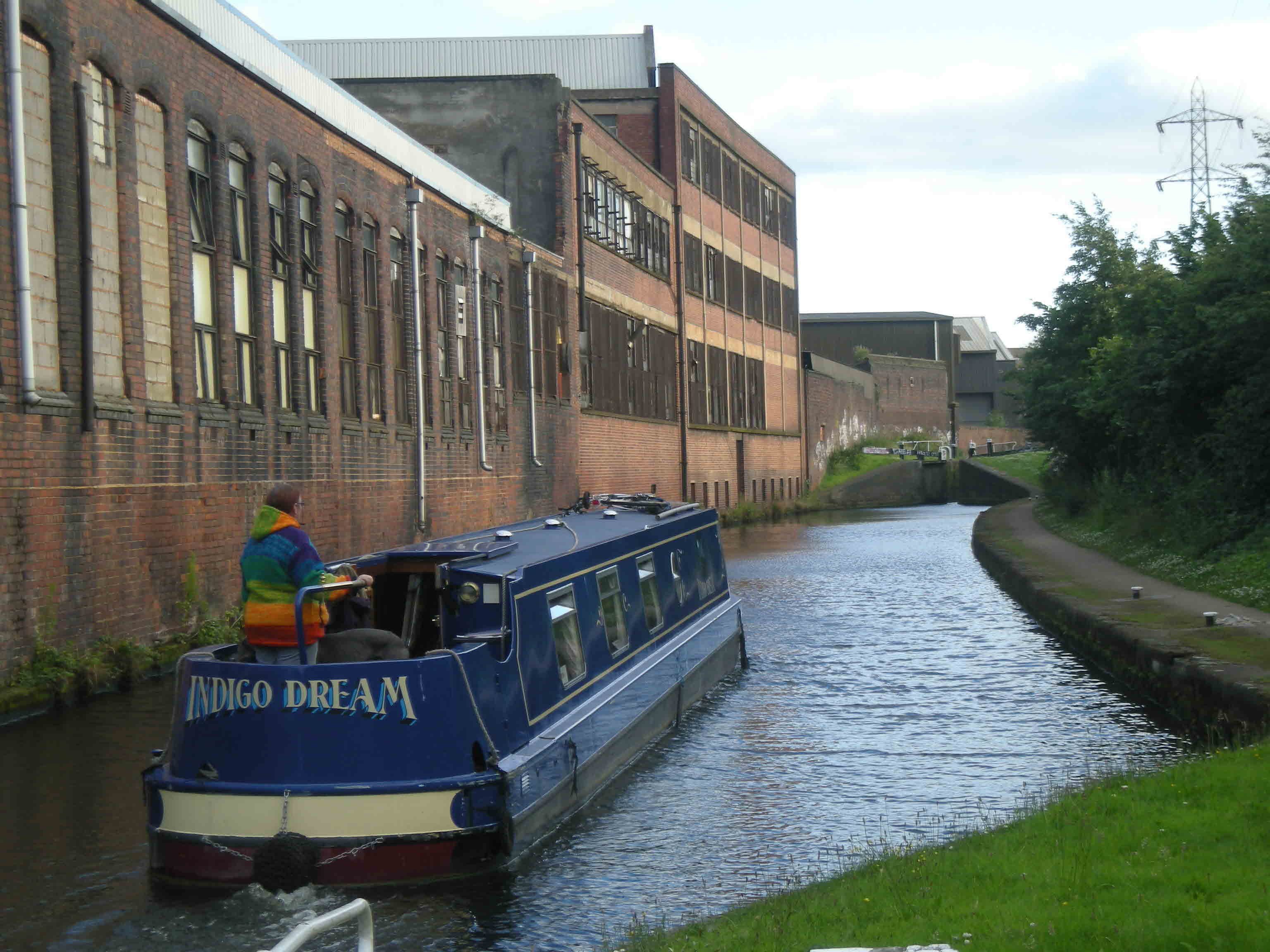 Industrial backwater - a view of the Digbeth Branch