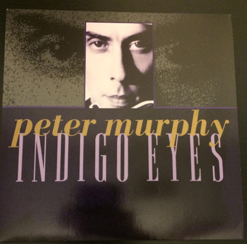 "Peter Murphy Indigo Eyes UK 7"" Box Set 1988 Front Cover"