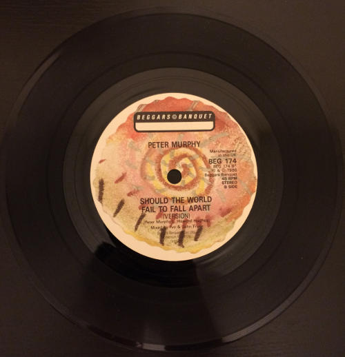 """Peter Murphy Tale Of The Tongue UK 7"""" 1986 B Side"""