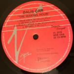 """Dalis Car The Waking Hour CA 12"""" 1988 A Label"""