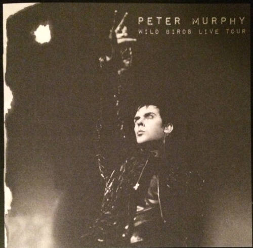 Peter Murphy Wild Birds Live Tour US CD 2015 Booklet Front Cover