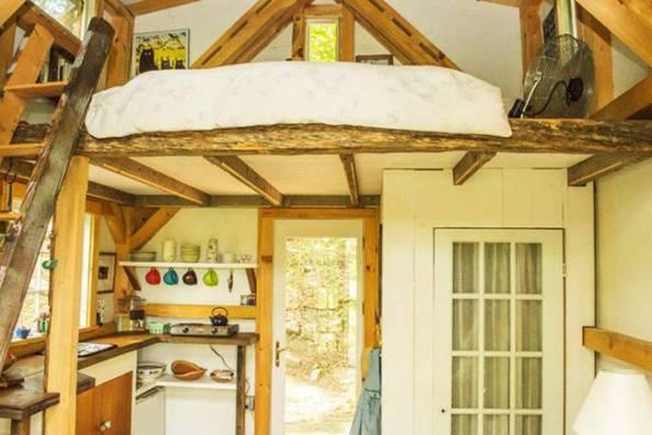 Tiny House interior dave herrle