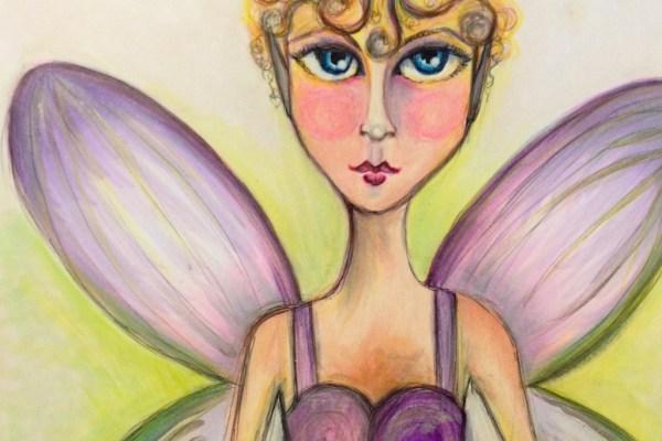 Copic Flower Fairy