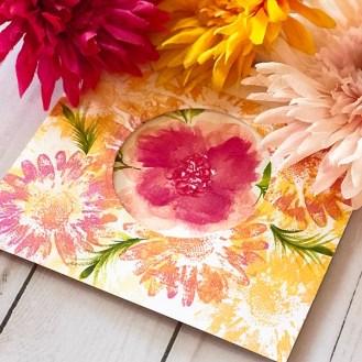Floral Card Creation