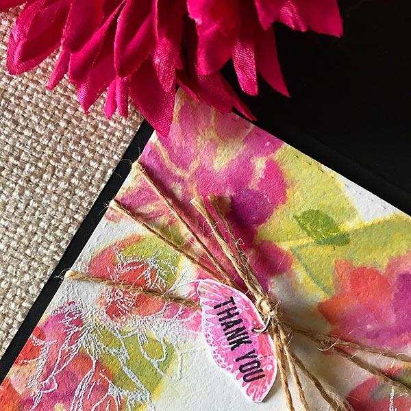 Gina K Designs Thank You Detail Shot