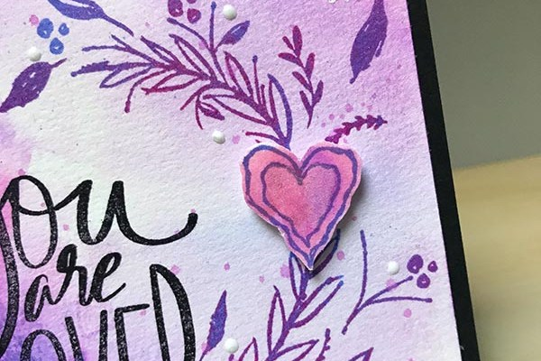 Gina K Designs Heart Detail