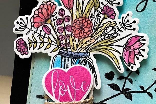 Gina K Designs I love Everything Detail