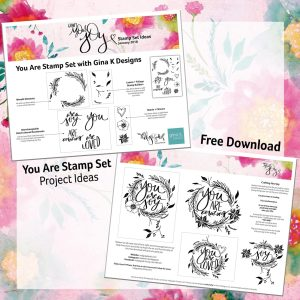 Your Are Stamp Set Project Ideaas