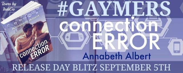 Connection Error by Annabeth Albert Blitz Banner