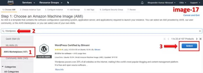 How to Make Word Press Website on AWS (Amazon Web Services) using Bitnami in Hindi?