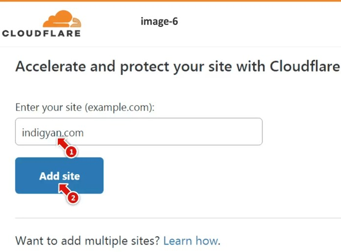 Cloudflare Me Website Add Kaise Kare in Hindi?