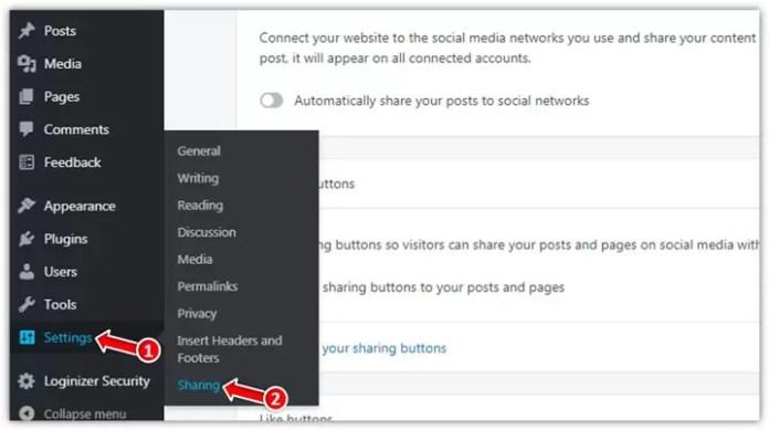 WordPress Blog Me Social Media Share Buttons Kaise Add Kare 8