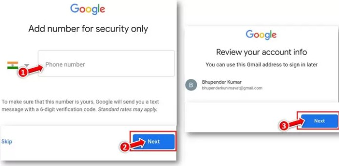 How to Make Gmail ID from Mobile Phone in Hindi?
