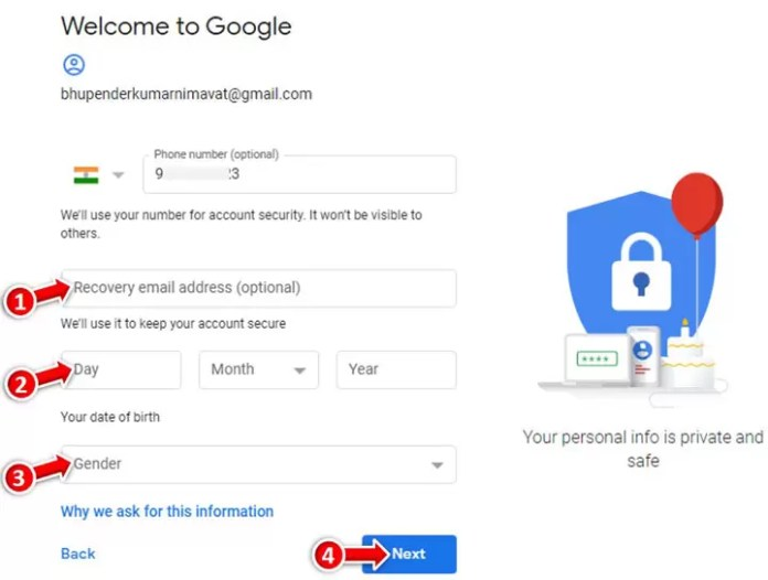 How to Create a New Gmail Account ID in Hindi?