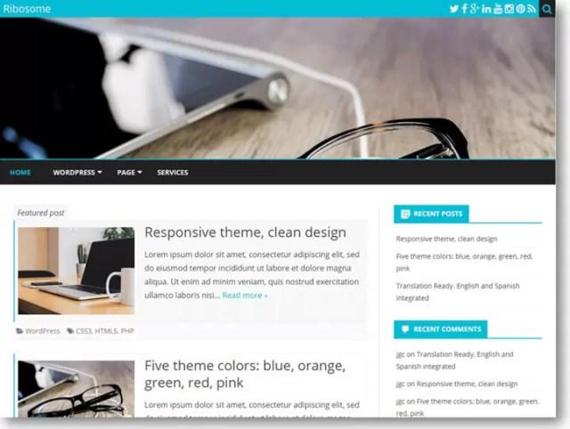 Ribosome WordPress Theme