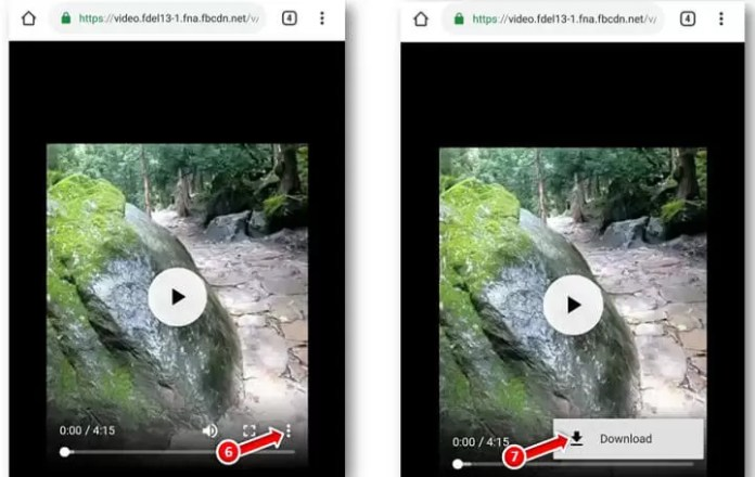 How to Save Facebook Video on iphone in Hindi