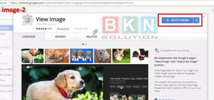 Google image search me View image Option Kaise Show Kare?