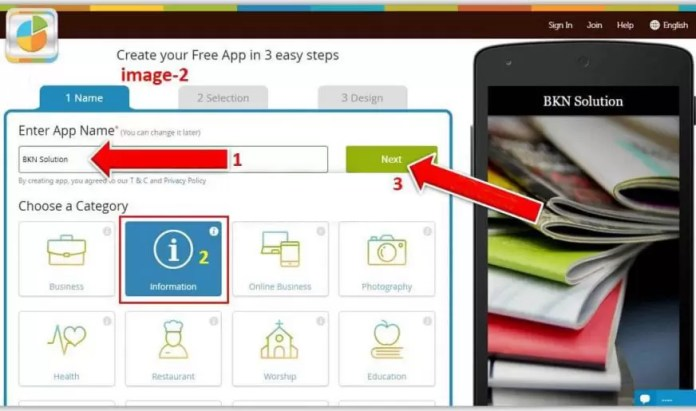How to create android app online in Hindi