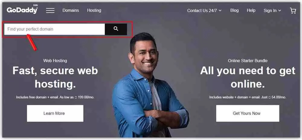 How to Buy Domain Name from GoDaddy in Hindi?
