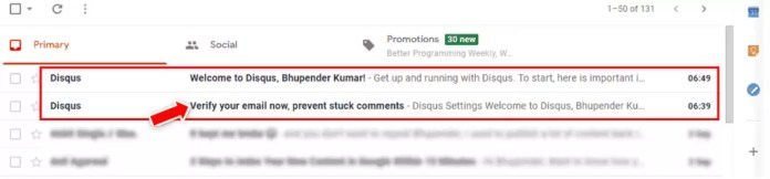 How to Show Disqus Comment Box below the Blog Post in Blogger?