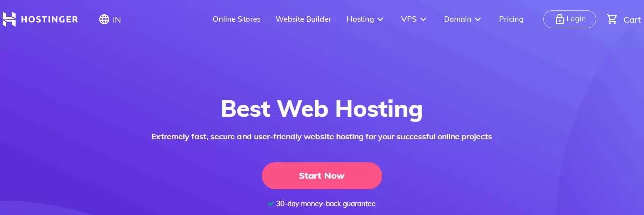 Hostinger Web Hosting Review in Hindi