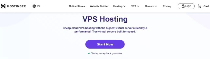 Hostinger VPS Web Hosting