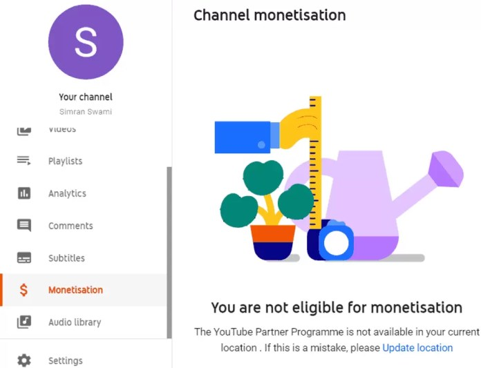 youtube monetization rules 2020 in hindi