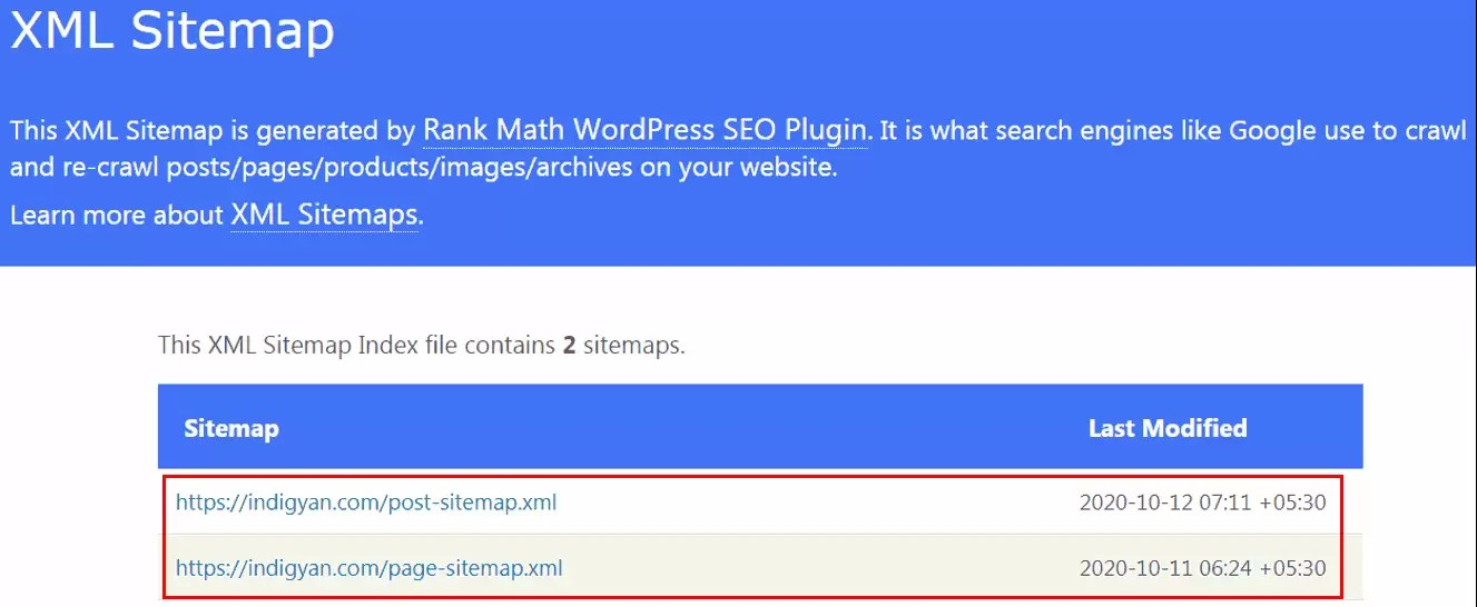 Website ka Sitemap Kaise Check Kare in Hindi?