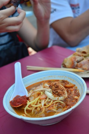 Prawn Noodles! This spells the end of the Penang food trail. Off to Kuala Lumpur for Xmas countdown!