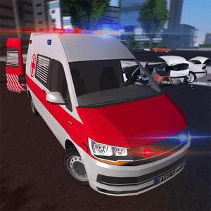 emergency ambulance simulator apk indir