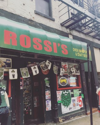 Rossi's in all it's Glory