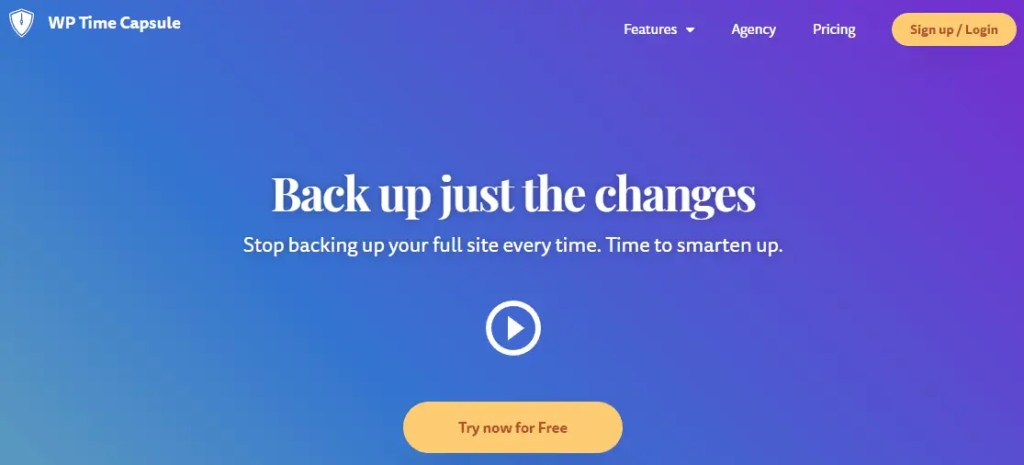 Wordpress Backup Plugin Wp Time Capsule Homepage