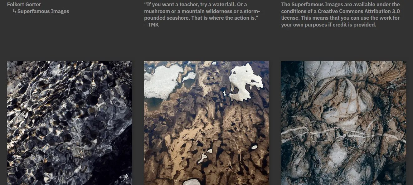 Free Stock Images For Bloggers Using The Superfamous Images Website
