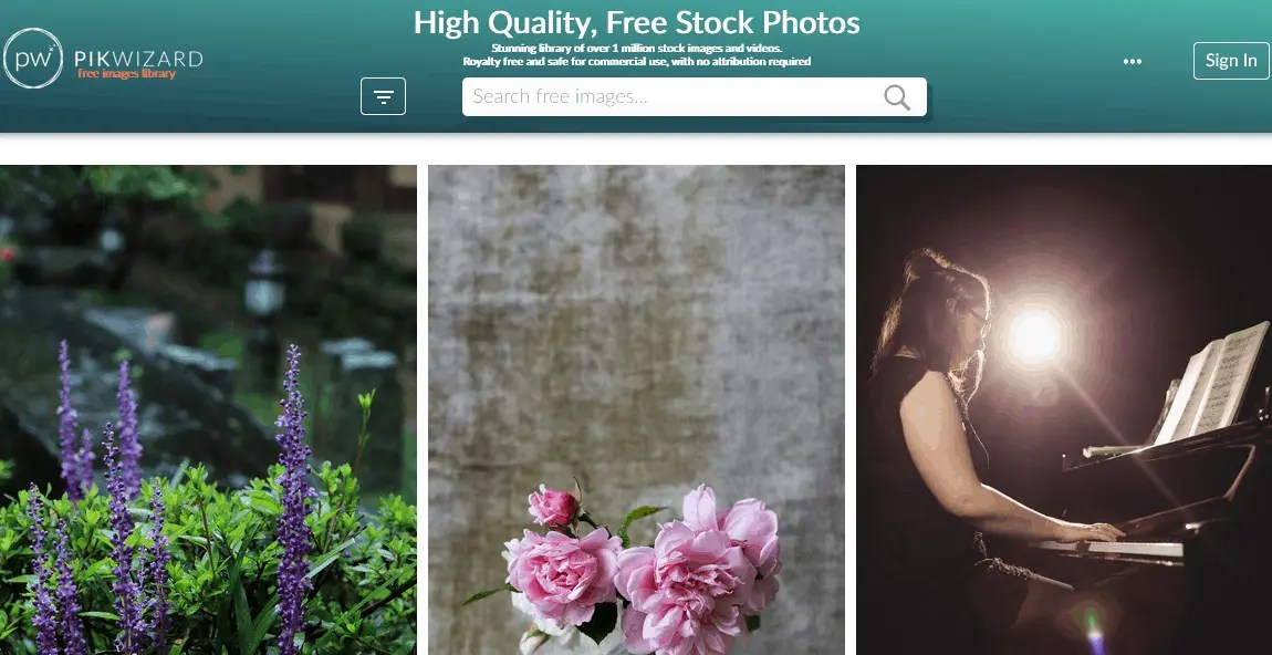 Free Stock Photography Images Using The Pikwizard Website