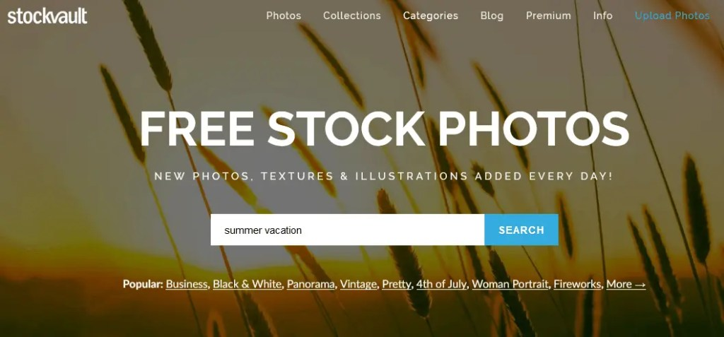 Free Stock Photography Images Using The Stockvault Website