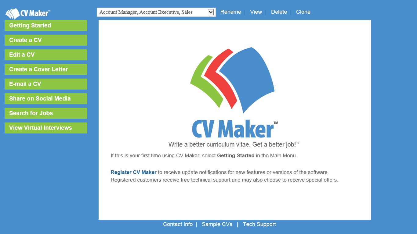Resume Builder Software Download Pc Cv Maker For Windows Individual Software