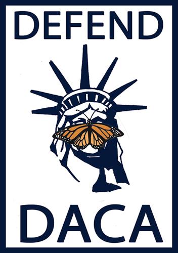 Defend DACA poster