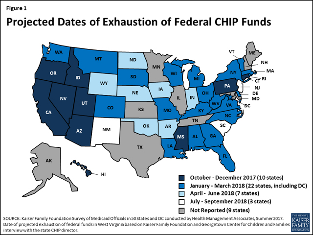 CHIP funding map