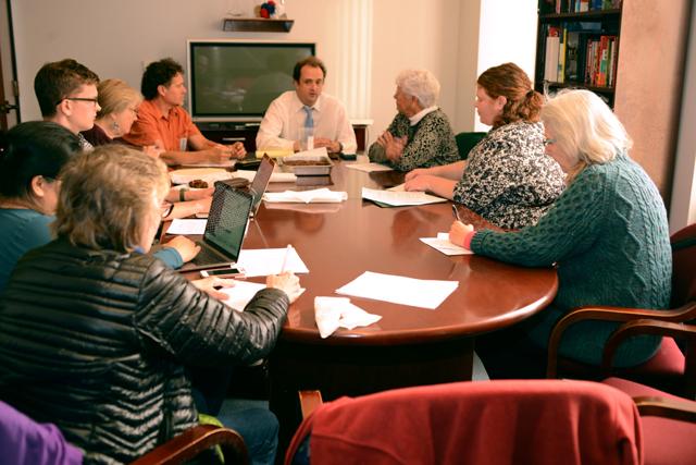 IEB's 11/15/17 meeting with Senator Feinstein's State Director. © Toby St. John