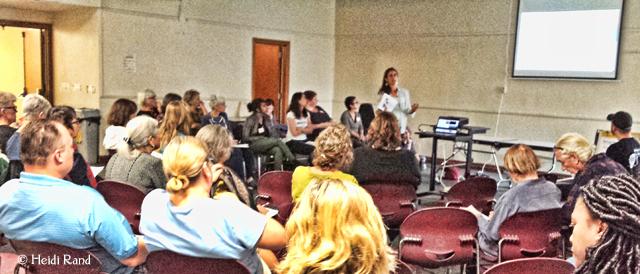 Oakland Rising presentation by Beth Gunston at AMM
