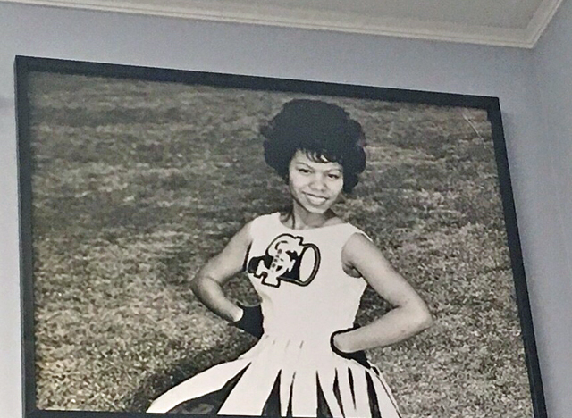 Barbara Lee cheerleader