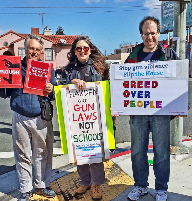 March for Our Lives, Richmond, photo by Heidi Rand