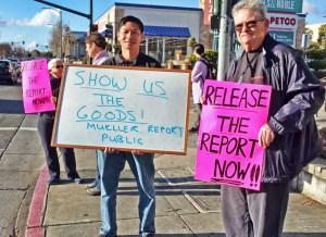 El Cerrito Shows Up March 27 2019 Release the Mueller Report