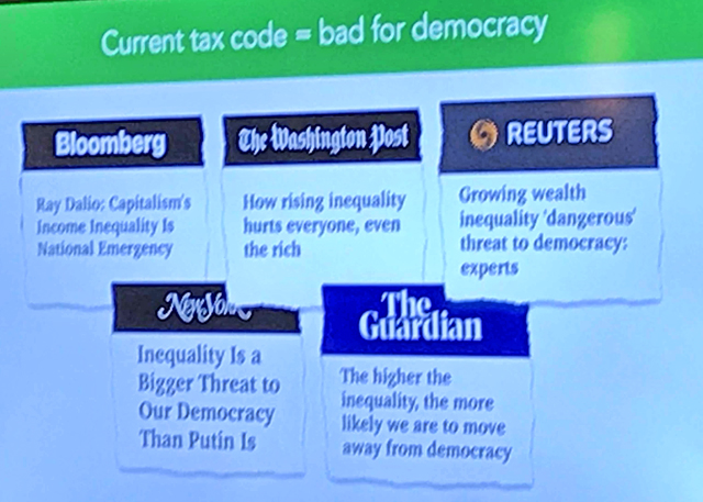 Our Tax Code is Bad for Democracy