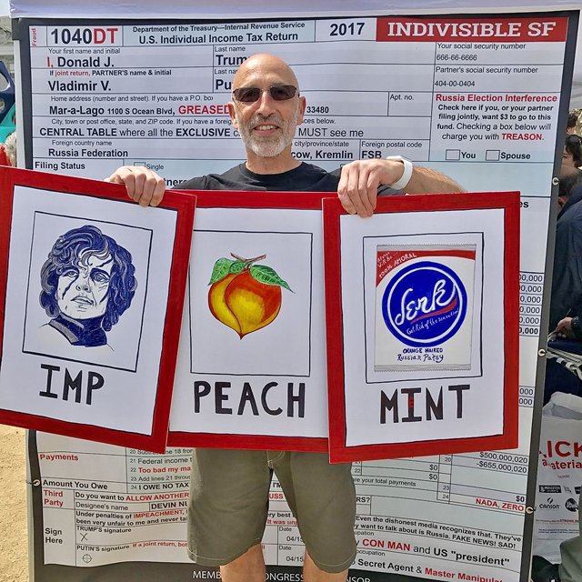 Imp Peach Mint photo, Master Steve Rapport of ISF