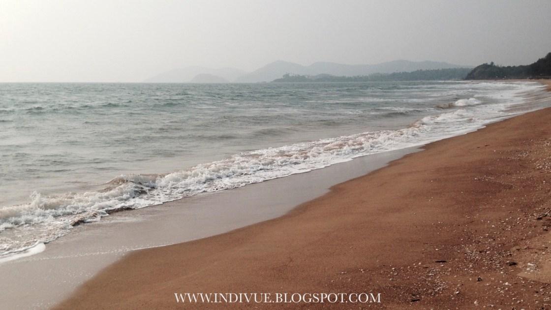 Raj Baga Beach, Goa, Intia