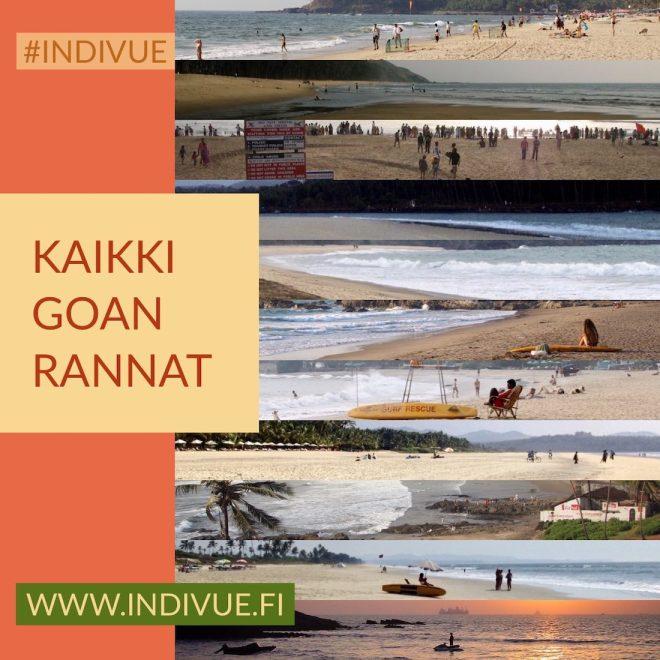 Kaikki Goan rannat 1