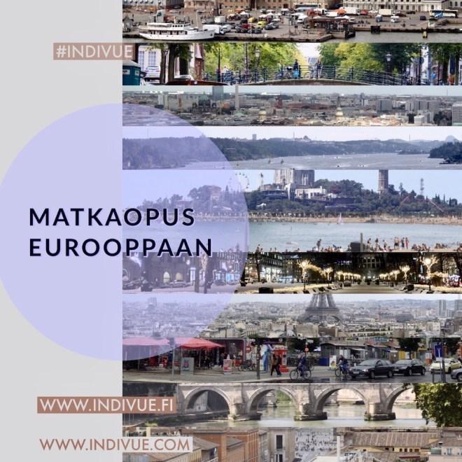 Matkaopus Eurooppaan 1