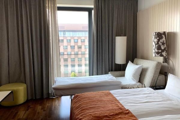 Hotelli Scandic Berliini Superior huone